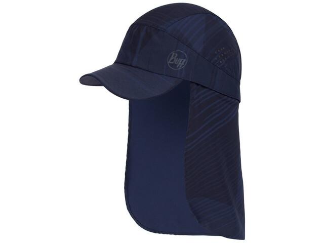 Buff Pack Sahara Cap, grevers navy